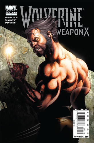 WOLVERINE: WEAPON X #3 variant cover