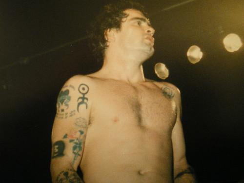Henry Rollins, Leeds, 1989
