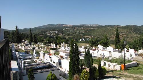 Greek graveyard