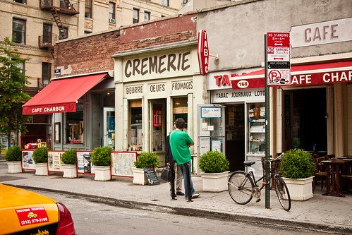 A French corner in NY