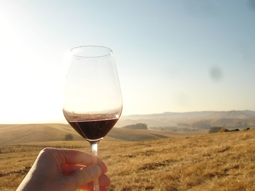 Wine at Outstanding in the Field
