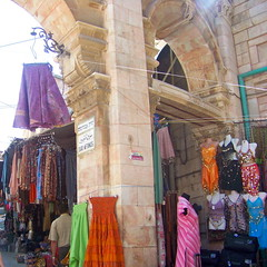 Clothes line (jglsongs) Tags: israel jerusalem marketplace bazaar   oldcity shuk suq yerushalayim   christianquarter