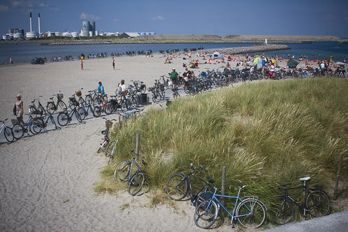 Beach Bicycle Parking