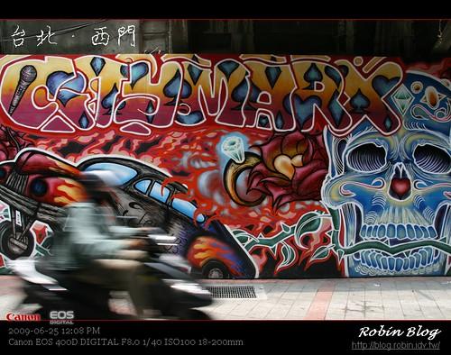 你拍攝的 20090625數位攝影_西門町街拍198.jpg。