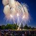 Big City Fireworks - 61 Second Exposure!