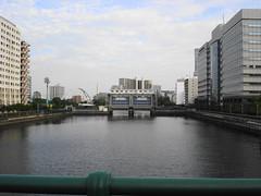 目黒川水門