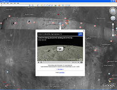 Luna in Google Earth