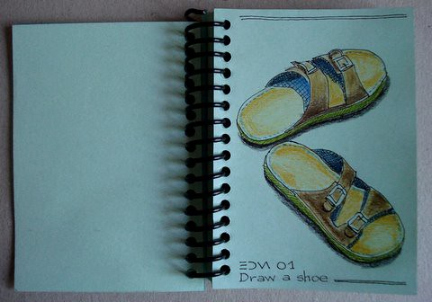 EDM 01 - Draw a shoe