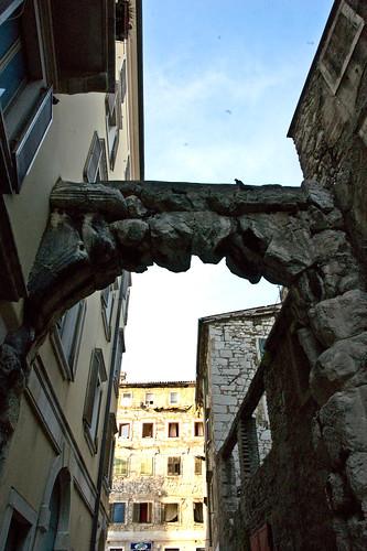 A római kapu, Rijeka