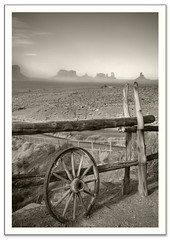 Monument Valley (Andy Q. Huynh) Tags: travel vacation arizona mountains southwest monument eos utah state az canyon route national valley powell ef 1740mm 30d senic f4l blackwhitephotos