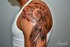 Jesus Piece (Angelstat2) Tags: tattoo clouds religious jesus tattoos tat2 angelstat2 tattooshading