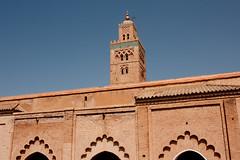 Koutoubia Mosque (جامع الكتبية), Marrakech, Maroc (Morocco) (Loïc BROHARD) Tags: africa sahara minaret mosque morocco berber maroc western atlas marrakech maghreb souk marrakesh madrassa tombs menara riad koutoubia marrakesch youssef jamaaelfna médina gueliz djemaaelfna redcity jemaaelfnaa saadiantombs benyoussefmadrassa مراكش almohad babagnaou marakeş almaġrib المغرب murakush