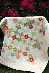 Better Together quilt pattern by Sweet Jane's, Strawberry Fields fabric by Fig Tree (sweetjanequilting) Tags: patterns moda quilting layercake honeybun designerfabric precuts