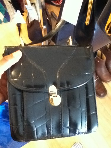 Leather Mini Satchel