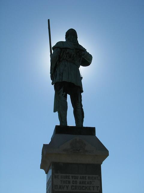 Davy Crockett Statue 4