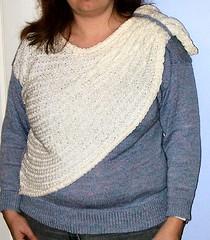 Passap shawl jumper