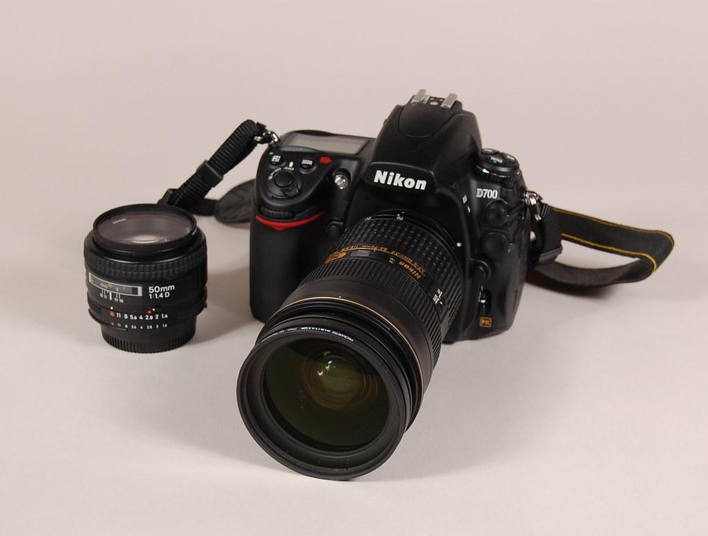 My Life in Cameras - Nikon D700