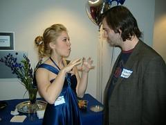 Rebekah and Sebastian (bluedressmovie) Tags: afi bluedress theblueball