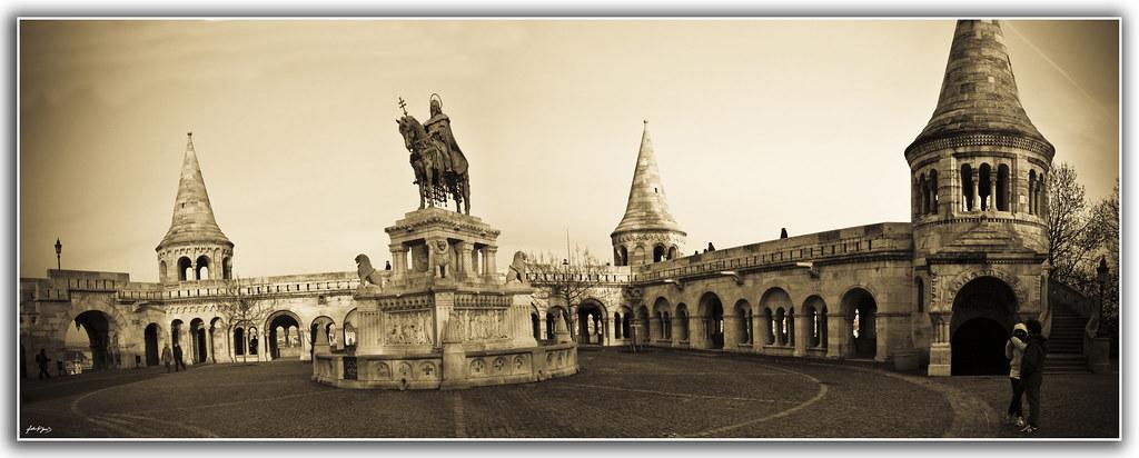 Panorámica Bastión de los Pescadores Budapest