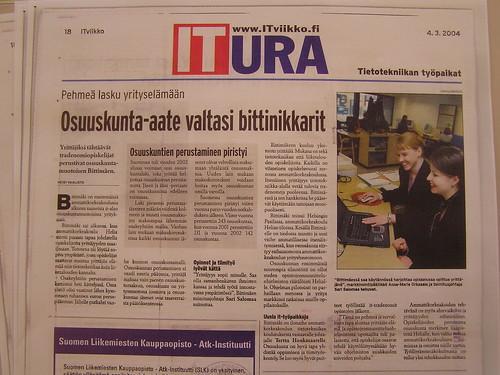 Osuuskunta Bittimäki ITviikossa: Pehmeä lasku yrityselämään - Osuuskunta aate valtasi bittinikkarit