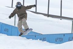 Afton snowboarder