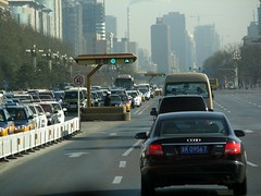 Beijing Traffic (Photo by Constantine Markides)