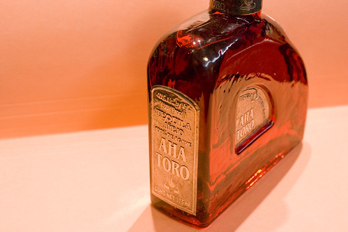 Aha Toro Tequila Bottle
