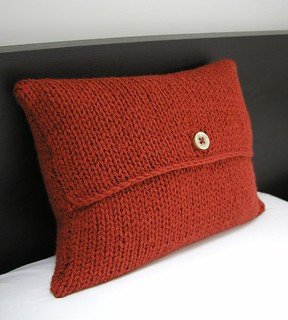 Ravelry: Envelope Cushion Cover pattern by Julia Marsh