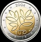 2 euro Fínsko 2004