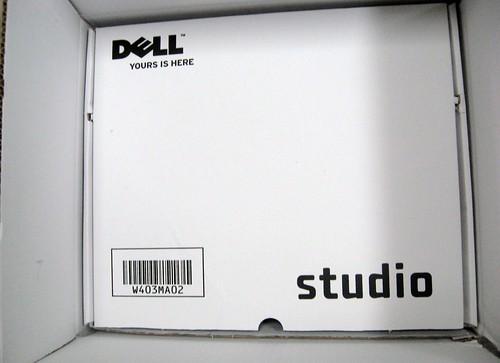 Unboxing Dell Studio 15