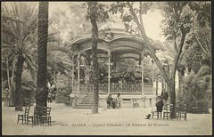 Algiers: Music Kiosk in Bresson Square (GRI) (Getty Research Institute) Tags: algiers early20thcentury gettyresearchinstitute musickiosk algiersalgeria squarebresson bressonsquare commons:event=commonground2009