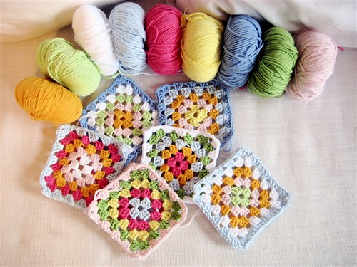 Spring Babette blanket to be