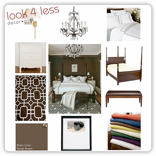 DecorPad's Look 4 Less Sophisticated Bedroom
