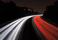 Caminos (SlapBcn) Tags: barcelona light movement highway long exposure bcn trails caminos autopista slap roads enmovimiento 18200vr nikond80 colorphotoaward slapbcn unbesazooocumpleaeraaa aversiundianoscruzamosenuno ynostomamoseseroncito