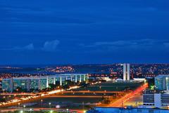Brasília at night (Pedro Cavalcante) Tags: brazil brasília brasil night america américa nikon noite hdr brasile brésil américadosul brazilië patrimônio patrimony 18135 d80 nikond80