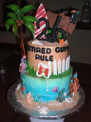 Ocean Theme cake (skimara) Tags: cakes cake retirement specialty