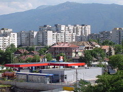 View from my apartment of Sofia 2 (Moldovia) Tags: travel mountains apartments sofia sony eu bulgaria pointandshoot balkans surroundings bg travelphotography capitalcity  southwesteurope