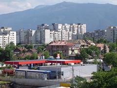 View from my apartment of Sofia 2 (Moldovia) Tags: travel mountains apartments sofia sony eu bulgaria pointandshoot balkans surroundings bg travelphotography capitalcity  southwesteurope