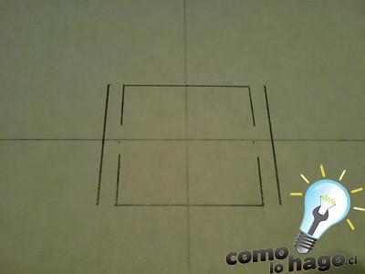 como hacer una piramide pop-up