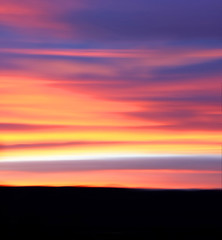Colorado sunset (Kelly Angard) Tags: life pink blue sunset sky orange abstract art nature yellow clouds canon photo colorado artist photographer purple image dusk horizon creative denver photograph writer create 2009 kreativekell kellya kellyangard thecraftygirl kellyafineartphotography