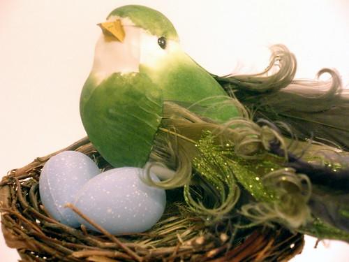 bird's nest candlestick