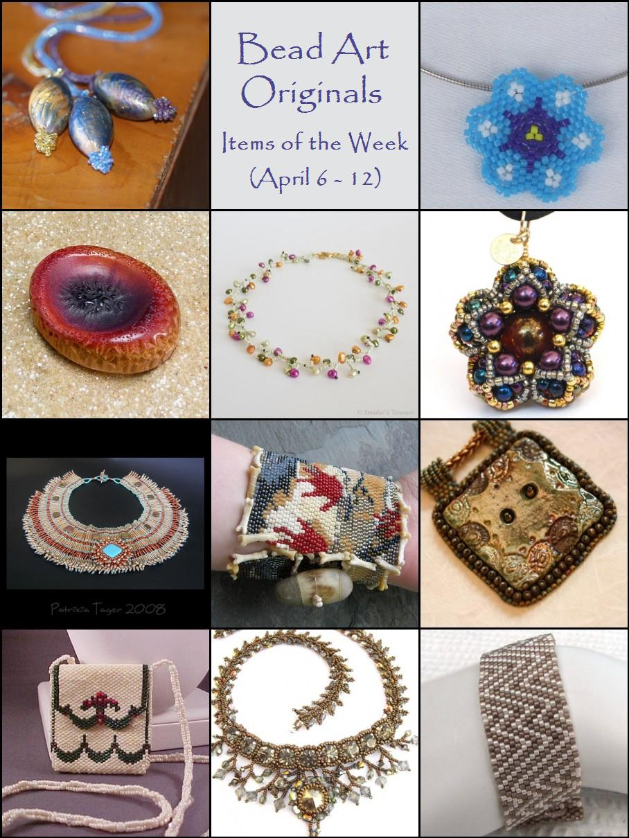 Bead Art Originals Items of the Week (4/6-4/12)