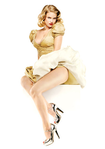 Alice Eve as Marilyn Monroe