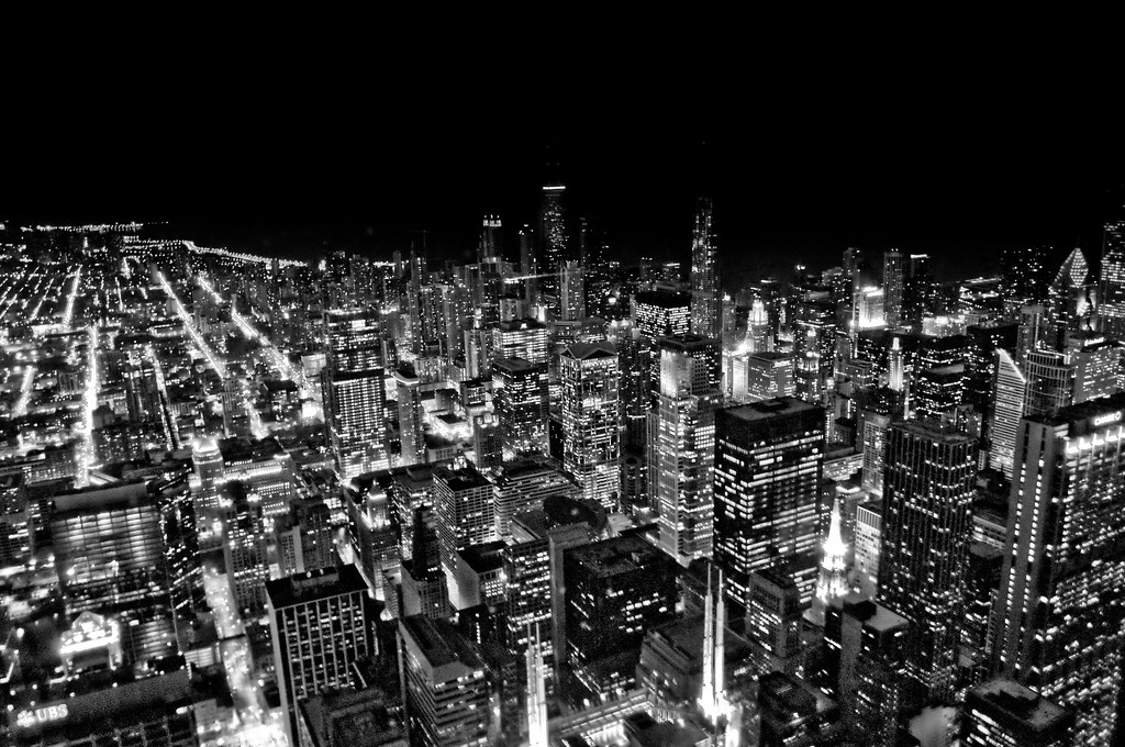 chicago from skydeck