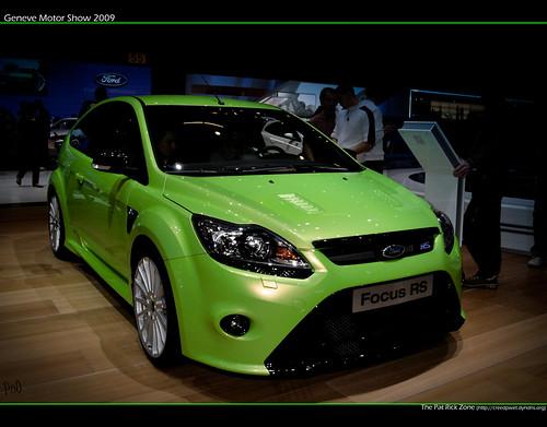 Geneva Motor Show 2009 Ford Fiesta RS by flagada51.