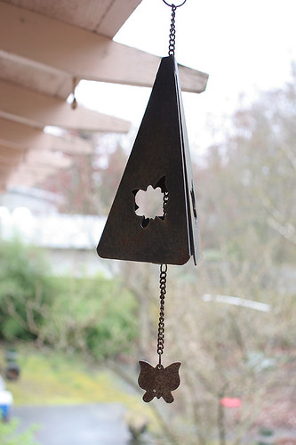 Triangle windchime