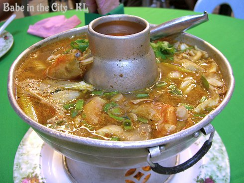 KT - Tom Yam With Seafood (RM20)