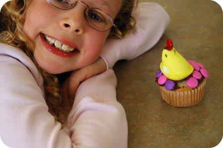 Sarah's Easter cupcake