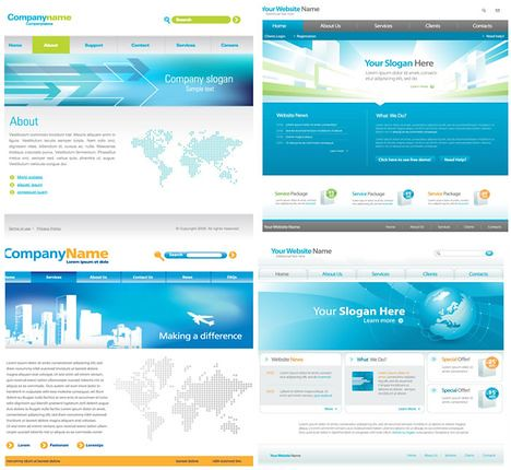 Awesome SS - Business Web Templates Vectors