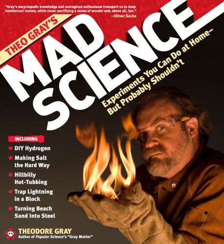 Book cover for MAD SCIENCE